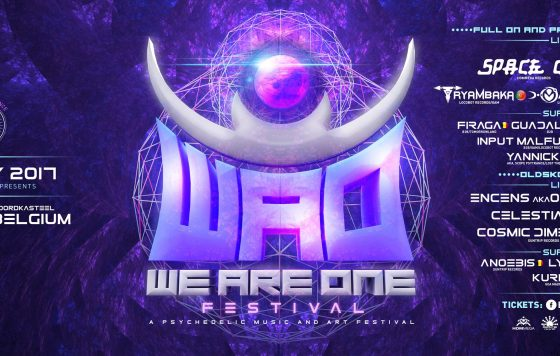 WE ARE ONE 2017 : day festival (psy and art festival)