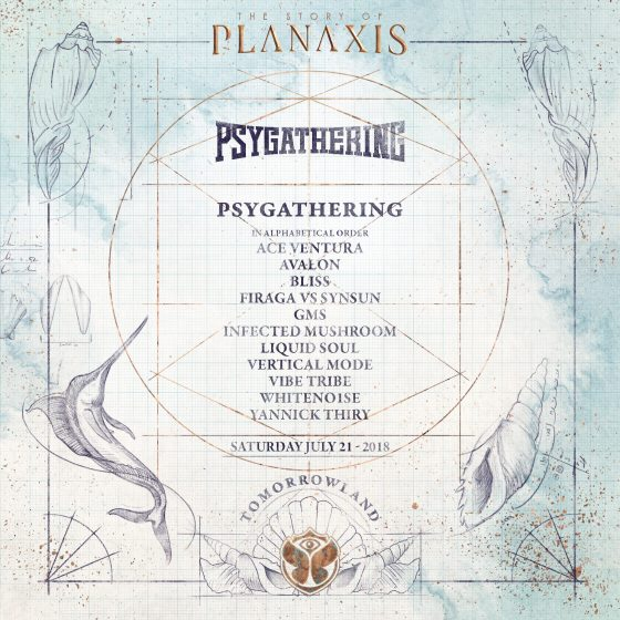 Psygathering at Tomorrowland – Official Event